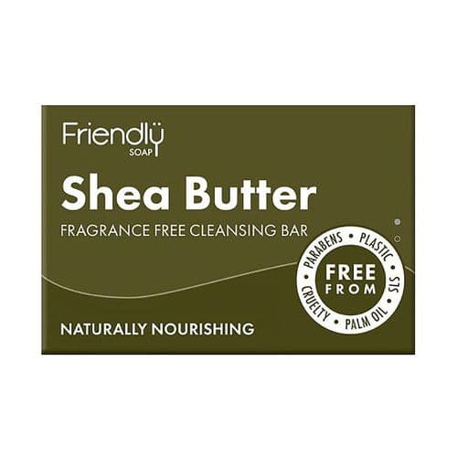 Friendly Soap Natural Shea Butter Cleansing Bar